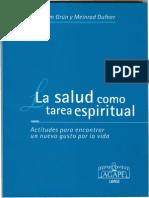 La Salud Como Tarea Espiritual
