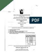 Paper 1 Trial Terengganu 2012