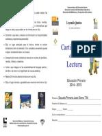 Cartilla de Lectura Primaria 2014-2015