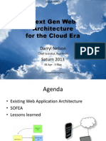 Next Gen Web Architecture for the Cloud Era