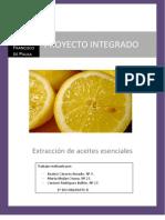 _Extracción de Aceites Esenciale_ (Proyecto Integrado, Curso 2010-2011)