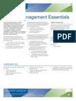 Project Management Essentials