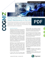 Using Predictive Analytics to Optimize Asset Maintenance in the Utilities Industry