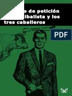 Abe, Kobo - El Grupo de Peticion Anticanibalista y Los Tres Caballeros (r1.1)