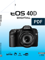 Manual Canon Eos 40D Ro