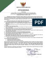 Pengumuman Cpns Formasi Umum Tahun 2014