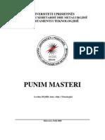 Tema e Masterit në PDF, L. Zeqiri