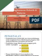 Sistem Penghantaran Elektrik Di Malaysia o Noranizah