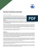 Management of hybrid riser