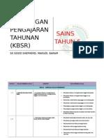 Rancangan Tahunan Sains Thn 6 Bm