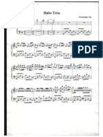 Baba Yetu - Piano Sheet Music