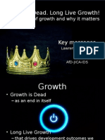 Quality of Economic Growth