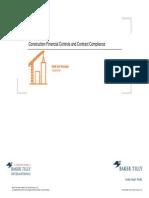 Construction Financial Controls