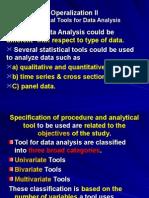 9390_4301Operationalisation II -Data Analysis