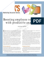 Boosting Employee Retention With Predictive Analytics