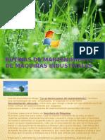 Rutinas de Mantenimiento de Maquinas Industriales.pptxx