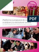 Platforma Europeană de Combatere a Sărăciei Și a Excluziunii Sociale
