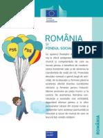 România Şi Fondul Social European