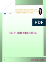 Redes de Dos Puertos-Pruebas de Brune