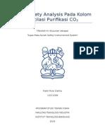 Safety Analisis Pada Kolom Distilasi
