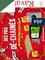 """Catalogue Ravate """"Des prix dé-chainés"""""""