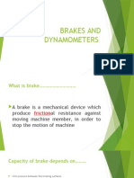 Brakes and Dynamometers