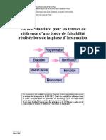 TDR Etude de Faisabilite