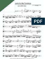 Albrechtberger Alto Trombone Concerto
