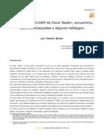 Claudio Bazán - Homenaje a Oscar Bazán Parte 1