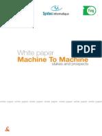 White Paper Machine to Machine Stakes and Prospects Orange