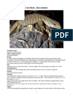 Care Sheet - Bosc Monitor