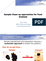 Nordic Sample Pre-treatment and Preparation for Food Analysis