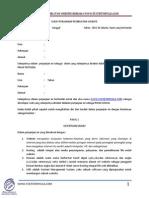 Contoh Surat Perjanjian Pembuatan Website