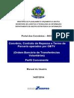 Convenio Contrato de Repasse SICONV