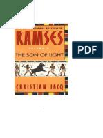 Christian Jacq - Ramses I El Hijo de La Luz