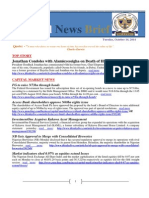 Financial NewsBrief 14-10-2014
