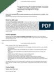 Core Java 6 Programming Fundamentals Training (Print Version)