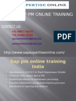 Sap Pm Module Online Training