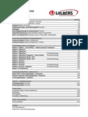 Wilberg Modell Und Preisliste 220213