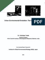 Urban Environmental Evolution the Case of Mumbai