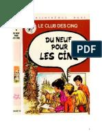 Blyton Enid Les Cinq 16 Du neuf pour Les Cinq 1978.doc