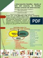 Sistema de La Intervención Familiar SEMINARIO TALLER