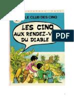 Blyton Enid Les Cinq 15 Les Cinq aux rendez-vous du diable 1978.doc