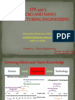 EPE 441 Present 4 Nano Engineering