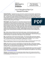 thyroglosus cyst