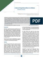 Ethionamide-Induced Hypothyroidism in Children