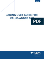 Guide for Value Added Tax via EFiling - External Guide