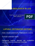 Prof. Dr Lia Georgescu - Terapia biologica in LES.ppt