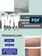 Journal Reading Urticaria, angioedema
