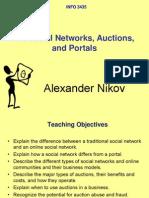 12 EC Social Networks Auctions Portals